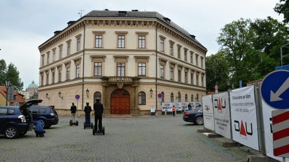 Lichtenštejnský palác z roku 1696 na Kampě
